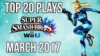 Video Top 20 Smash 4 Plays of March 2017 - Super Smash Bros Wii U (SSB4) download in MP3, 3GP, MP4, WEBM, AVI, FLV January 2017