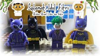 Lego Stop Motion dengan tema hari raya Idul Fitri karya dari Rara Dan Metha Farmasya Art Clip. Dengan Batman dan Joker sebagai tokoh utama di dalam film animasi ini. Batman dan Joker saling bermaaf-maafan di hari yang suci lebaran. Selamat Idul Fitri untuk teman-teman semua mohon maaf lahir dan batin. Maafkan segala dosa dan khilaf kita. Kita lebaran, Batman juga ikutan lebaran.Lego Horrorpedia Frankenstein watch here : https://youtu.be/Dy34N1Zp0EsSUBSCRIBE TO FarmasyaArtClip ON YOUTUBE: ➞ https://goo.gl/ORPRNM★Watch Best FarmasyaArtClip Video➞ New  : https://goo.gl/22EhZQ➞ Most Popular : https://goo.gl/UfAEQN★Buat yang mau kirim FanMailKirim aja langsung ke kedai kita ya :Kirim ke Ibu Shinta (Kedai Yeye)Alamat : Jln. Mariwati No.46 Kp. Balakang Cipanas-Cianjur43253 (Phone 081912141247)Follow and Add Our Social Media: ★☆★➞ FB : https://www.facebook.com/farmasyaartclip➞ Instagram : https://instagram.com/farmasyaartclip➞ Instagram2 : https://instagram.com/yeyesquishyshop➞ Twitter : https://twitter.com/farmasyaartclipFarmasya Art Clip business inquiries:youtube@drm-indonesia.comFarmasya Art Clip's YouTube is under management of:dr.m, Indonesia's 1st Certified & Official Youtube MCNhttps://servicesdirectory.withyoutube.com/directory/pt-digital-rantai-maya-drm