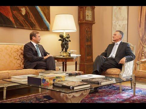 Declarações de Pedro Passos Coelho, Presidente do PSD, após reunião com o Presidente da República.