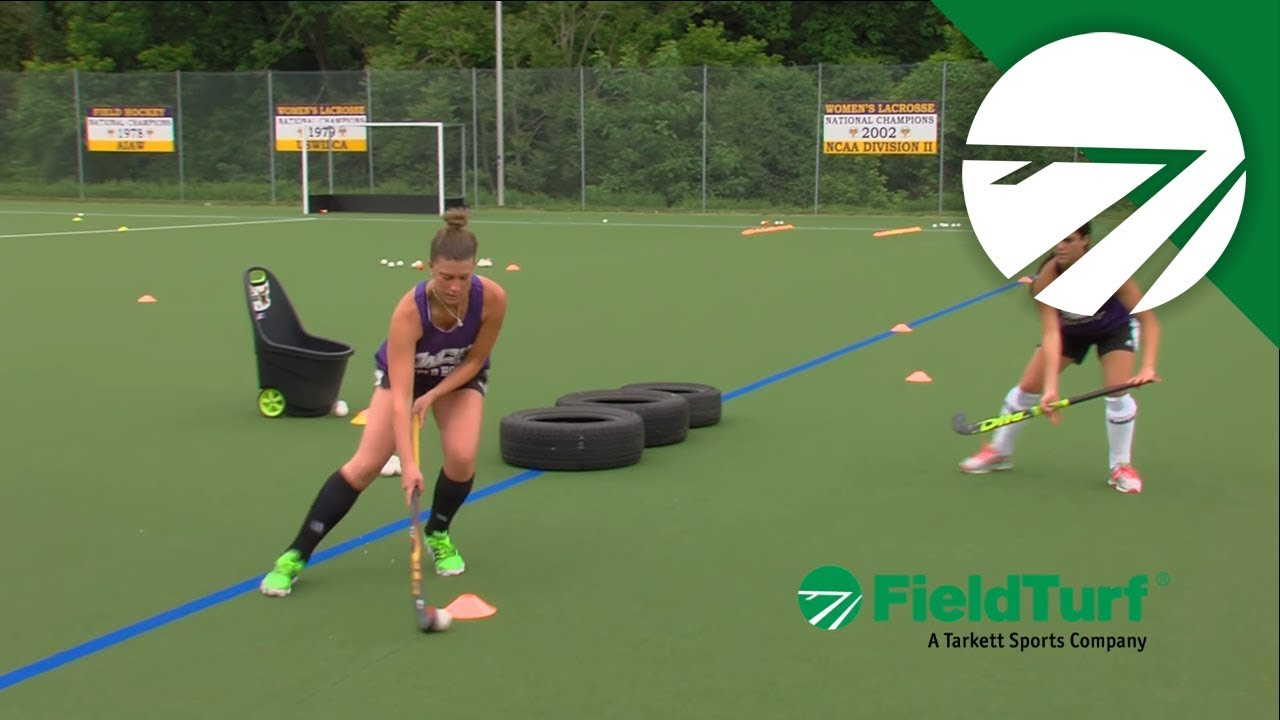 The Tire Drill │ Field Hockey Training with Amy Cohen