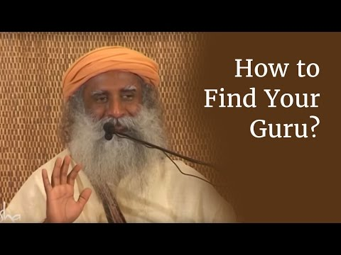 Guru - Sadhguru tells us that only one who is seeking liberation should seek a Guru. If one is seeking solace, there is no need to seek a Guru. Sadhguru then tells ...