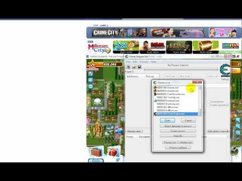 selezionare il browser giusto con cheat engine