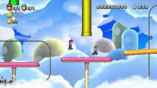 [ITA] Let's Play: New Super Mario Bros. U - Mondo 7: Nuvole Di Meringa [1/2]