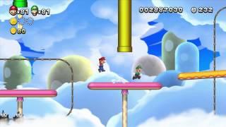 [ITA] Let's Play: New Super Mario Bros. U - Mondo 7: Nuvole Di Meringa [1/2]