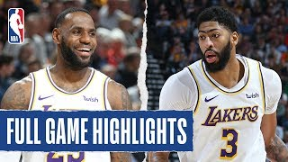 LAKERS at JAZZ   FULL GAME HIGHLIGHTS   December 4, 2019