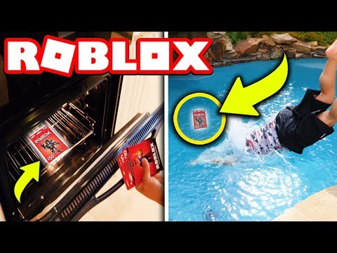 HIDING 75,000 ROBUX IN MY HOUSE!! (Roblox Scavenger Hunt IRL)