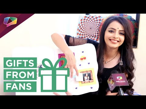 Shrenu Parikh Aka Gauri Receives Gifts From Fans |