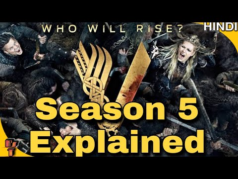 VIKINGS | SEASON 5 | All Episodes Review | Full Story And Ending Explained In Hindi | Kripal Mishra