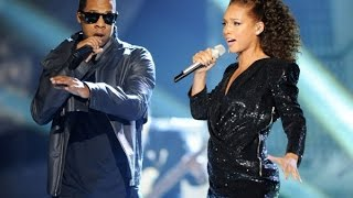 Jay Z & Alicia Keys - Empire State Of Mind (Live Official Video)