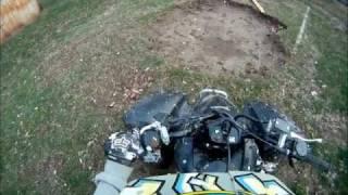 7. 2011 Honda trx250x- GoPro