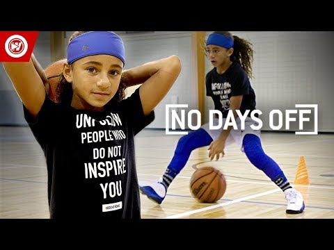 9-Year-Old Wants To Be The FIRST Female NBA Player