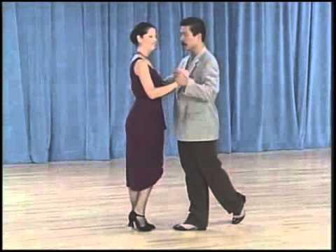 основные фигуры аргентинского танго - 11 Cross system basic