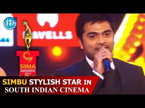 Simbu Fun with Shiva | Stylish Star in South Indian Cinema | SIIMA 2014