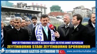 Av Fethi Ahmet Alparslan Zeytinburnu Stadı Zeytinburnu Halkınındı Halkın Kalacak