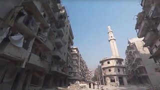 Видео 360: корреспондент RT побывала в освобождённом Алеппо