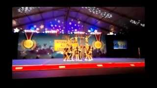 2014 UCA International All Star Cheerleading Competition - Small Junior Level 2. Rainbow