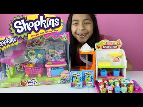 Mart - Shopkins Small Mart Review and Play. I also open twho shopkins blind baskets in this video. Shopkins mini mart its a lot of fun you can go to shopkins market...