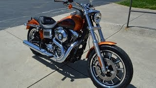 1. Sold! 2014 Harley-Davidson® FXDL - Dyna® Low Rider® Amber Whiskey & Vivid Black