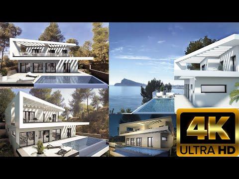 1290000€ Элитная недвижимость Испании/Вилла премиум класса в стиле Хайтек Hi-Tech на Коста Бланка