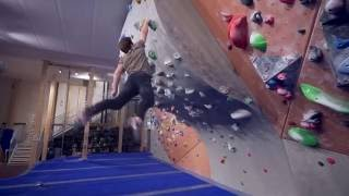 Dynos With Linda And Nikken! by Eric Karlsson Bouldering