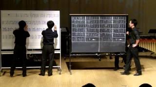 Download Lagu School of THUD (chalkboard/whiteboard percussion skit) - THUD Mp3