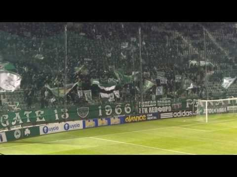 Panathinaikos Gate 13, 22.12.2013 (видео)