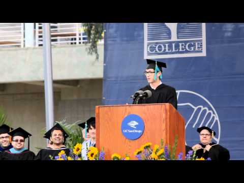 Wesley Chan of Wong Fu Production 2012 UCSD Commencement Address
