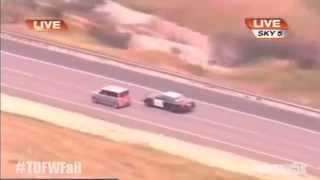 Kobieca logika podczas ucieczki samochodem