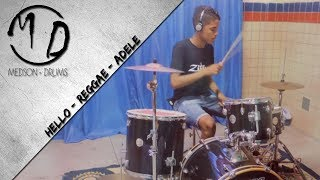 Medson - Adele - Hello (Drum Reggae Cover) HD