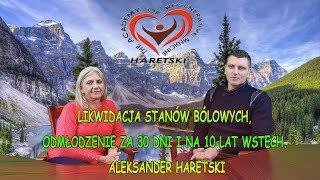 Likwidacja Stanów Bólowych, Odmłodzenie za 30 Dni na 10 Lat Wstecz. Aleksander Haretski.