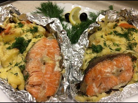 запеченная рыба в фольге рецепт с фото