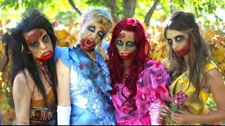Nonton How To Make Zombie Disney Princess Makeup and Costumes! Film Subtitle Indonesia Streaming Movie Download
