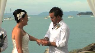 Coral Sea Resort . 3 Minute highlight. Ceremony only package.