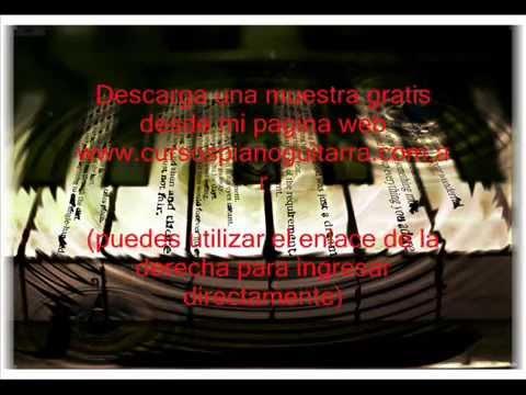 partituras para piano y