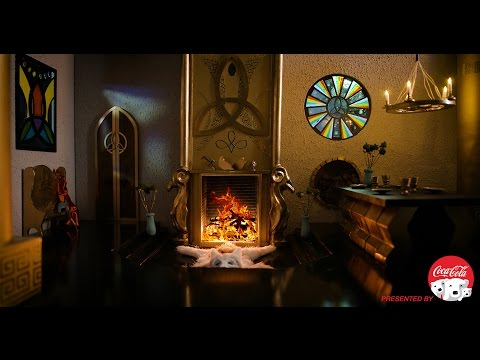 超療癒影片!雷神索爾的暖爐~