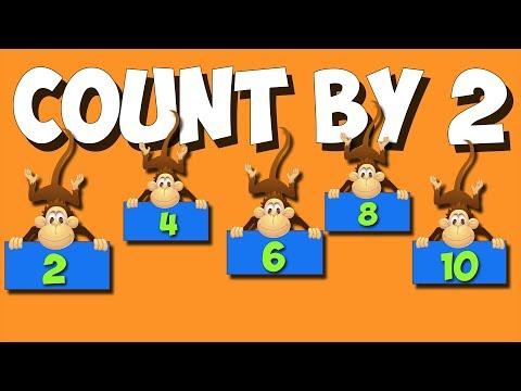 Zählen von 2 - a sing-along für frühen elementaren