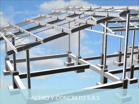 Vigas para construccion videos videos relacionados con - Casas con estructura metalica ...