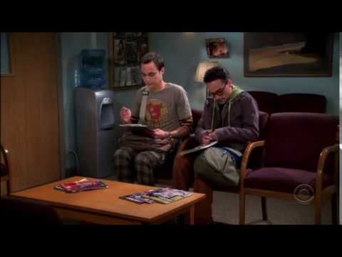 The Big Bang Theory season 1 episode 1 (first scene)