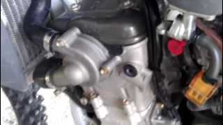 4. Husqvarna TE 250 2006 Sound check Engine