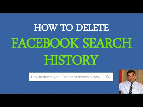 Watch 'How to Delete Facebook Search History? - YouTube'