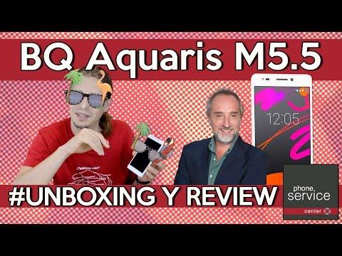 Review BQ Aquaris M5.5 (en español)