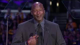 Michael Jordan Jokes About His Crying Meme During Kobe Bryant Eulogy by Bleacher Report