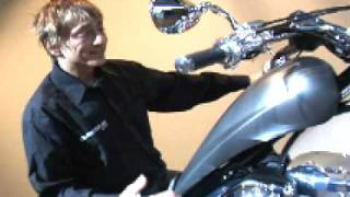 7. 2010 Honda Fury Unveiled! - Big Red does its first chopper