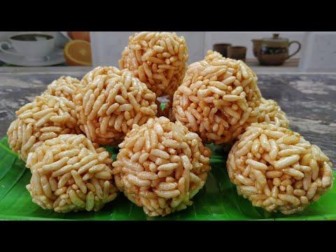 3 ವಸ್ತು ಬಳಸಿ 10 ನಿಮಿಷದಲ್ಲಿ ಕಡ್ಲೆಪುರಿ ಉಂಡೆ ಮಾಡಿ| Puri Unde Recipe | Puffed Rice Ladoo | Murmura Ladoo