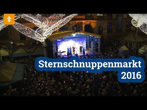 Weihnachtsmarkt Wiesbaden: Sternschnuppen Markt - Eröffnung 2016