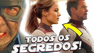 TODOS OS SEGREDOS DO TRAILER 2 DE VINGADORES 4 ULTIMATO