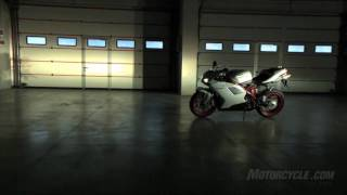 10. 2011 Ducati 848 EVO Motorcycle Overview - A class of one gets even better