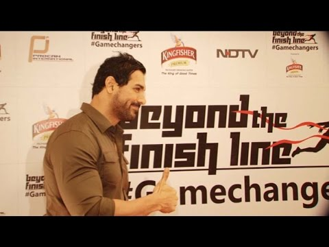 John Abraham At Beyond The Finish Line Game Changers