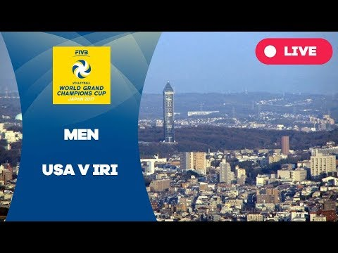 USA v IRI - 2017 Men's World Grand Champions Cup