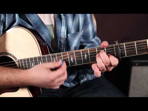 "Iron & Wine ""Flightless Bird, American Mouth"" -  Easy Beginner Acoustic Songs For Guitar, Lesson"
